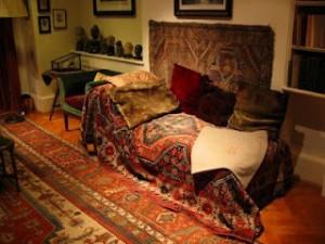 O divã de Freud em Viena