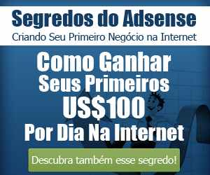 Banner Segredos do Adsense