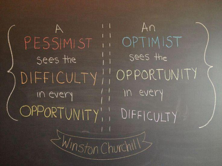 Pessimismo vs Otimismo