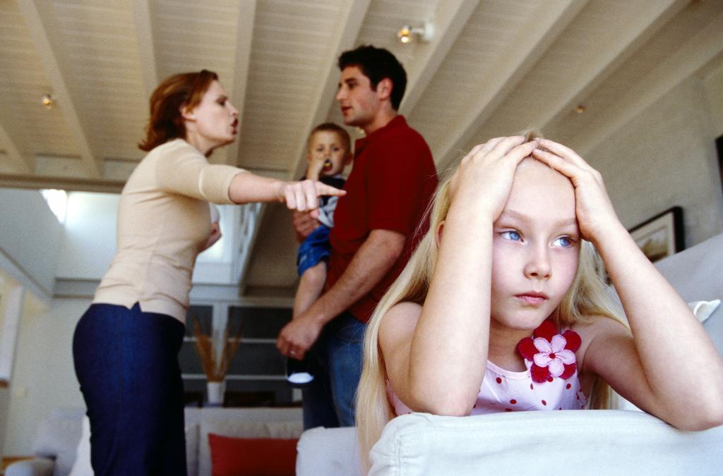 brigas em familia
