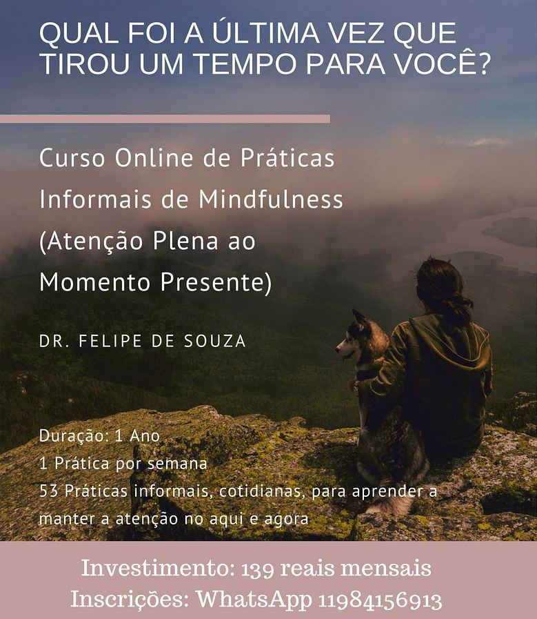 Curso Online de Práticas Informais de Mindfulness